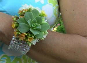 Succulents corsages