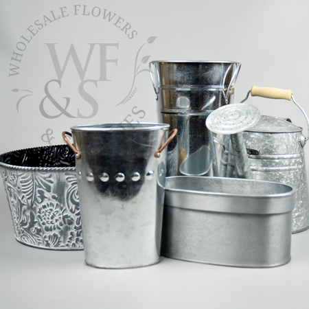 Metal Containers Wholesale Flowers And Supplies