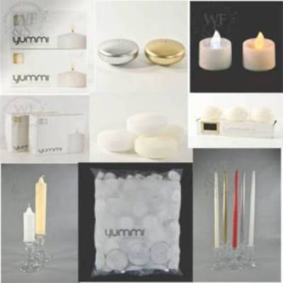 Candles & Candle Holders - Wholesale Flowers and Supplies