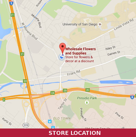 Wholesale Flowers and Supplies San Diego