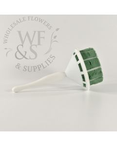 Straight Handle Bouquet Holder with Aquafoam